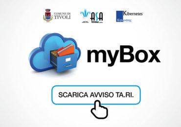 Attivazione del servizio myBox