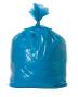 sacco semitrasparente blu plastica