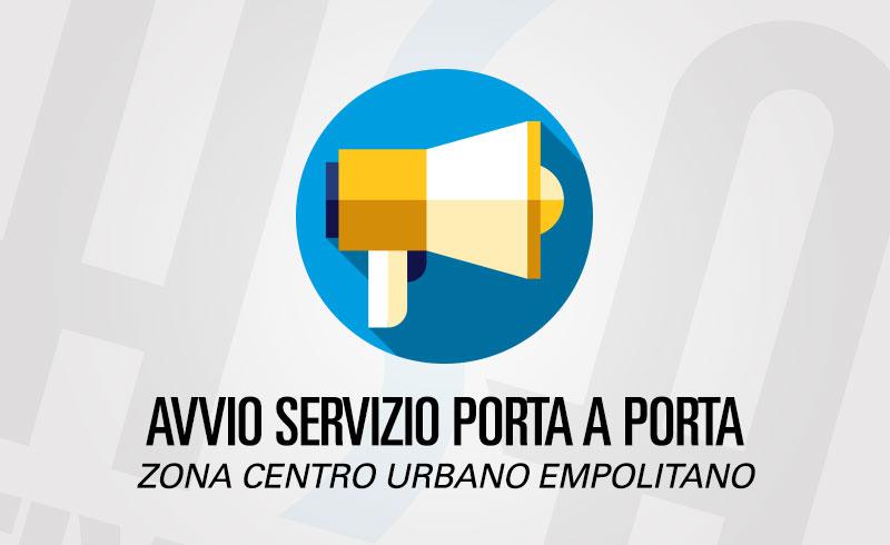 AVVIO PORTA A PORTA CENTRO URBANO EMPOLITANO
