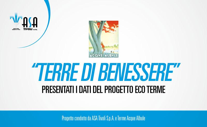 Progetto ECO Terme. Presentazione dei dati