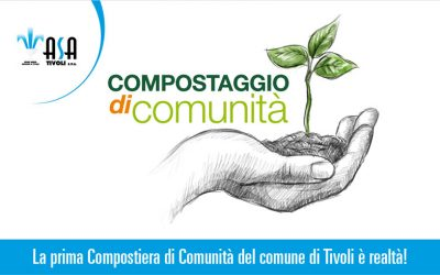 La prima Compostiera di Comunità del comune di Tivoli