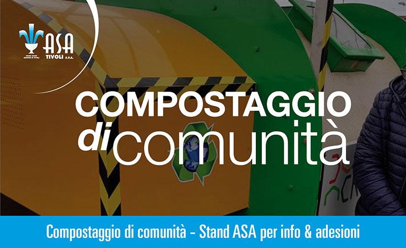 Compostaggio di comunità – Stand ASA per info & adesioni