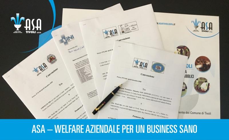 ASA – Welfare aziendale per un business sano
