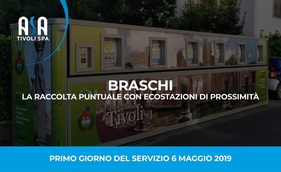 Braschi, la raccolta puntuale con ECOstazioni di prossimità