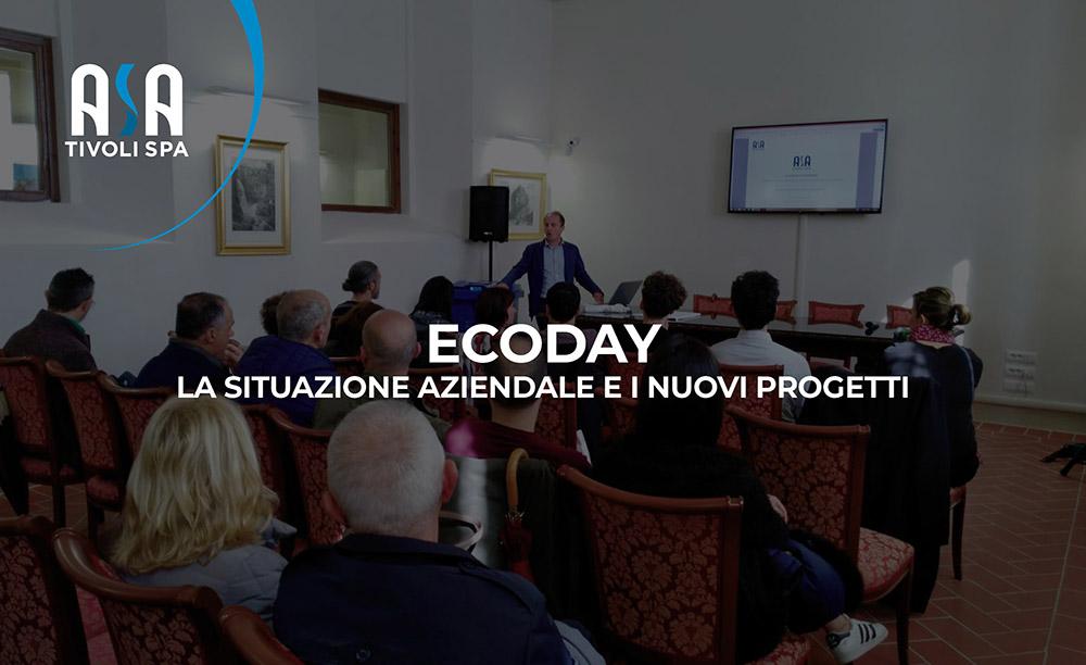 ECO DAY – La situazione aziendale e i nuovi progetti