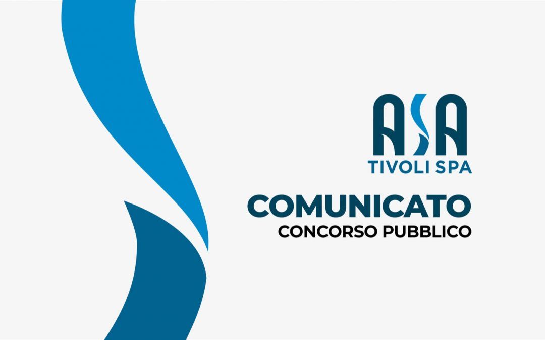 Comunicato concorso pubblico