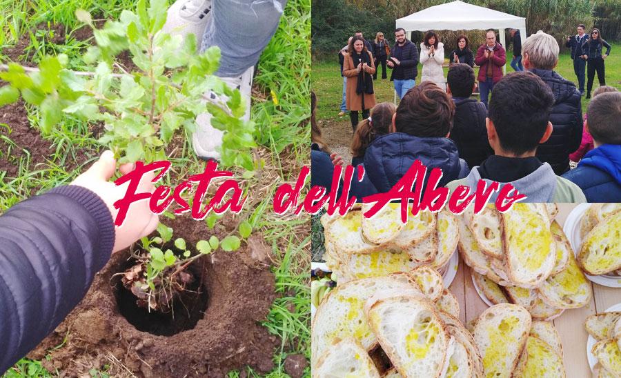 Comunicato stampa – Festa dell'Albero
