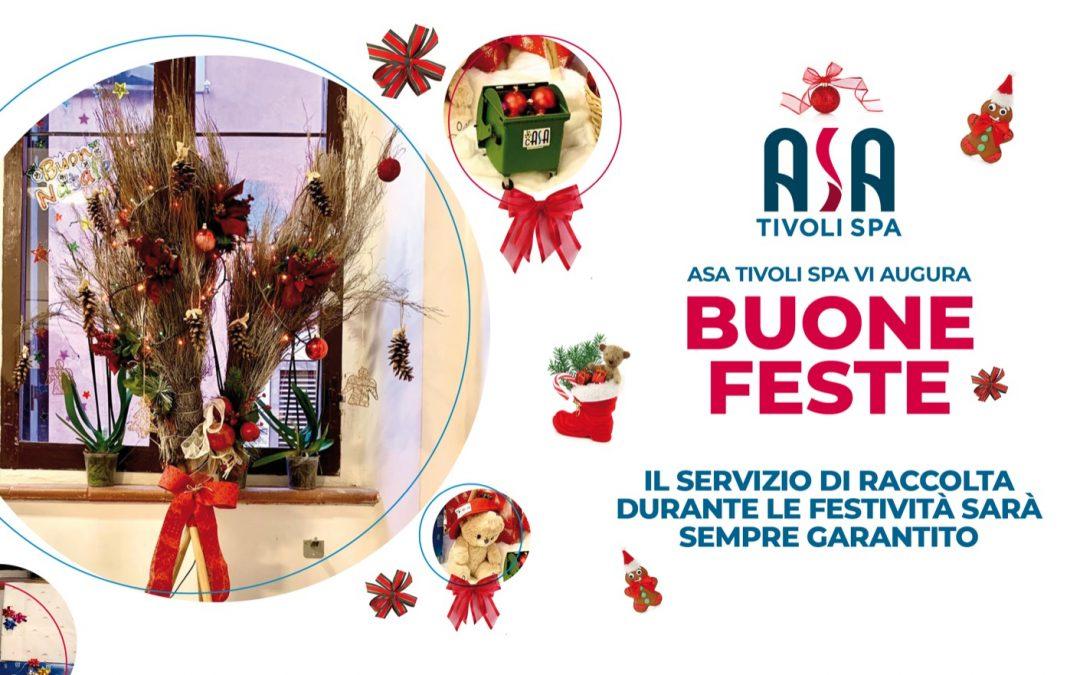 ASA Tivoli vi augura Buone Feste!