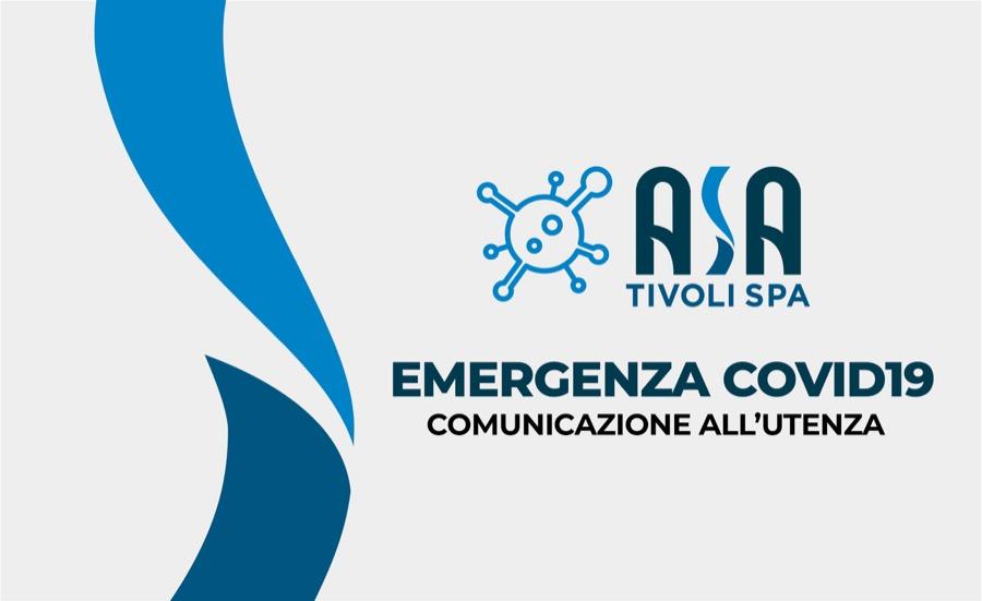 Emergenza Covid19 – Comunicazione all'utenza