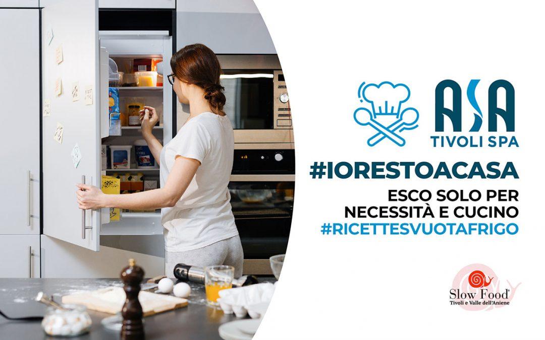 #iorestoacasa – Esco solo per necessità e cucino #ricettesvuotafrigo