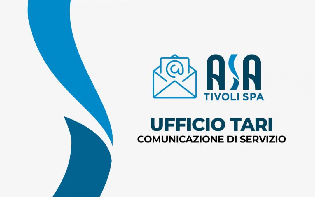 Ufficio TARI – Modifica servizi