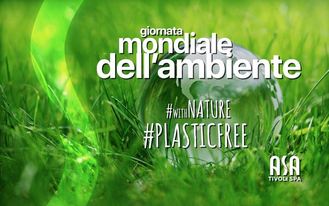 Giornata mondiale dell'ambiente #PLASTIC FREE